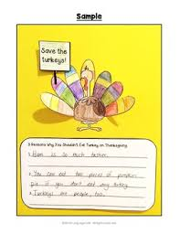 ell efl eld thanksgiving lesson plans writing activities