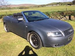 audi a4 modified audi a4 1 8 turbo s line convertible modified plasti dipped bbs