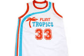 Jackie Moon Costume Jackie Moon 33 Flint Tropics Semi Pro Movie Basketball Jersey