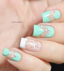 best 20 aqua nails ideas on pinterest teal acrylic nails mint