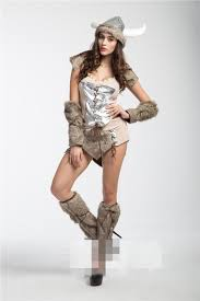 Viking Halloween Costume Women Quality Halloween Viking Pirate Cosplay Costumes Bull Demon