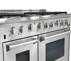 48 Gas Cooktops Thor Kitchen Stainless Steel Ranges Stainless Steel Gas Ranges
