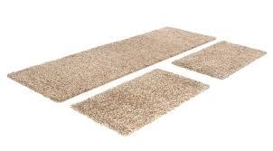 Teppich Schlafzimmer Beige Hochflor Teppich Uni Shaggy Sand 102