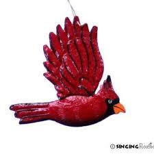 handmade fair trade metal summer birds ornaments from