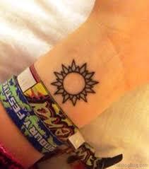 46 stunning sun tattoos on wrist