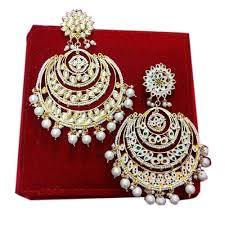 gold erring designer gold earring at rs 3000 gram gold earrings id