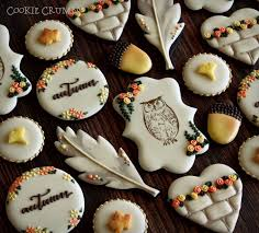 167 best autumn and thanksgiving cookies images on