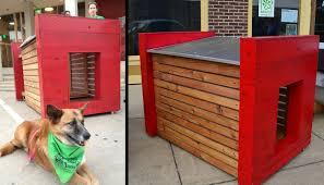 Cedar Dog House Plans old barn wood projects DIY PDF Plans