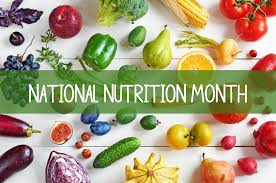 fruit of the month national nutrition month fruits and vegetables the