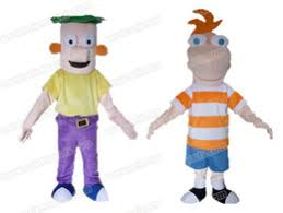 Phineas Halloween Costume Discount Phineas Ferb Costumes 2017 Phineas Ferb Mascot Costumes