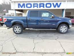 truck ford blue 2013 ford f150 limited supercrew 4x4 in blue jeans metallic