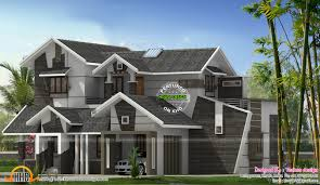 unique 5 bhk contemporary house kerala home design and unique