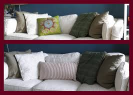 Red Pillows For Sofa by Living A Beautifully Blessed Life The How To U0027s Of Throw Pillows