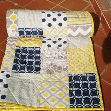 Navy And Yellow Bedding Best Navy Dot Bedding Products On Wanelo