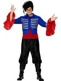 Mens 80s Halloween Costumes Prince Mens 80s Fancy Dress Costume Trousers U0026 Jacket Amazon