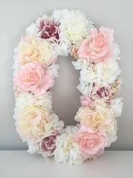 Floral Decor Best 25 Flower Letters Ideas On Pinterest Letter Nursery