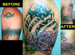 rose tribal cover up by kristel oreto tattoonow