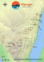 Hiking Maps Hiking Maps U2013 Sinai Trail