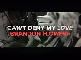 I Love Brandon Flowers - can u0027t deny my love