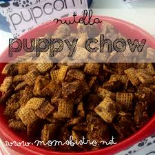 nutella puppy chow recipe anthony u0027s paw patrol puppy party