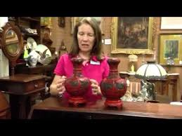 Cinnabar Vases Asian Antiques Antique Chinese Lacquer Cinnabar Vases From Our