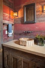 Houzz Rustic Bathrooms - bathroom vanity barnwood bathroom pinterest bathroom vanity