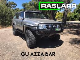 nissan patrol nissan patrol gu y61 tube bull bars please email for shipping quote be