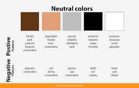 neutral colours zhooyified colours play an important role in brand recognition but