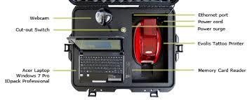 tattoo id card printer id box mobile photo id system id box aptika