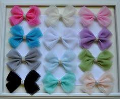 tulle hair bows how to make a tulle hair bow hairbow supplies etc diy hair