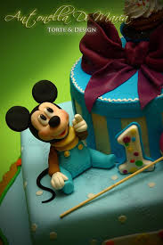 marvelous mickey mouse baby shower cake between the pages