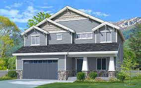 basin craftsman 2 story craftsman style house plan walker home