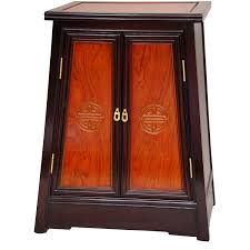 Two Colour Kitchen Cabinets Amazon Com Oriental Furniture Rosewood Long Life Cabinet Two