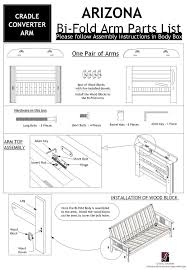 Futon Assembly Instructions Roselawnlutheran - Sofa bed assembly