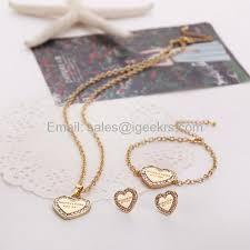 bracelet sets buy michael kors necklace and bracelet set off54 discounted