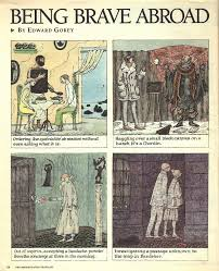 New York Times Travel by Goreyana Edward Gorey Travel Observations