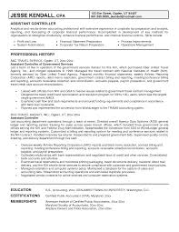 Finance Sample Resume by Ideas Of Sample Resume Financial Controller Position About Form