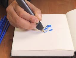 3doodler create 3d printing pen 3doodler 2 0 the 3d printing pen goes 75 smaller and 50 lighter