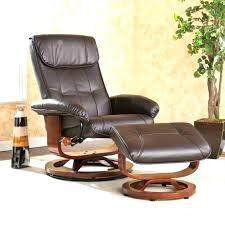 Oversized Chairs With Ottomans Ergonomic Leather Chair With Ottoman Electric Reclining Chairs