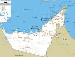 map of the uae detailed clear large road map of united arab emirates ezilon maps