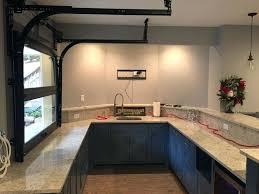 kitchen cabinet garage door hardware roller door kitchen cabinet kitchen garage door throughout glass