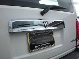 lifted jeep nitro dodge nitro chrome rear lift tail gate handle cover trim