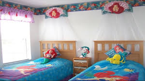 Twin Bed Room For Girls Cute Twin Bedroom Design With Double Bed For Girls Room Room Ideas