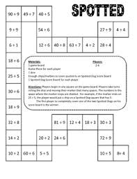 pattern games for third grade spotted dog math division game 3rd grade by coaching thru math tpt