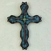 metal crosses crosses decorative wood and metal crosses at novica