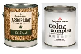 free arborcoat paint sample and color pint at benjamin moore