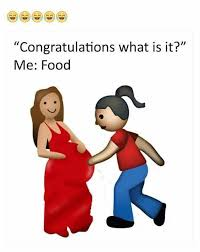Food Baby Meme - im pregnant wit food baby pinterest