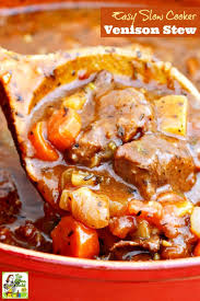 Stew Ideas Easy Slow Cooker Venison Stew This Mama Cooks On A Diet