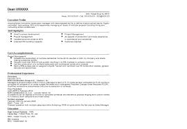 Profile Section Of Resume Example by Construction Company Owner Resume Samples Resume Sample