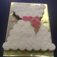bridal shower and grooms cakes